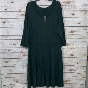 Lane Bryant Plus Size Sweater Dress NWT 22/24